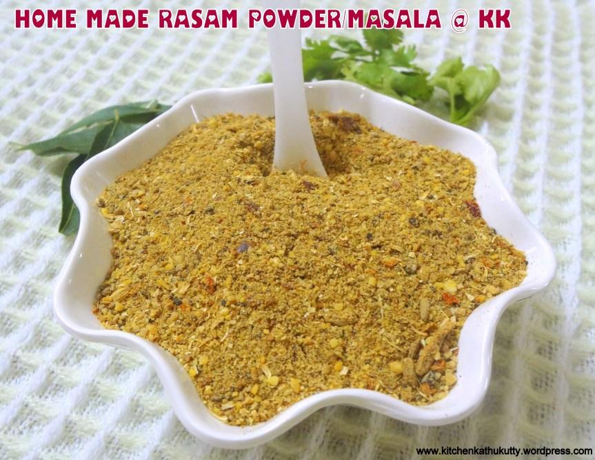 HOME MADE RASAM POWDER|RASAM POWDER/MASALA/PODI RECIPE