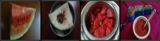water melon puree