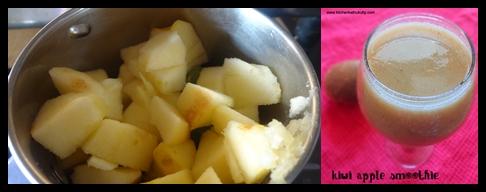 kiwi apple smoothie