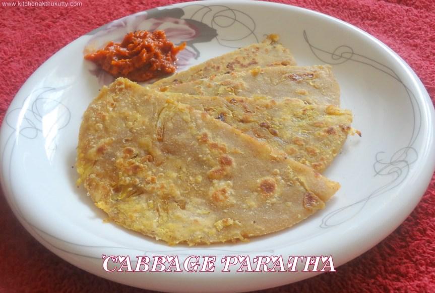 cabbage paratha