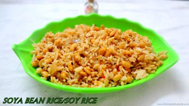 soy bean rice