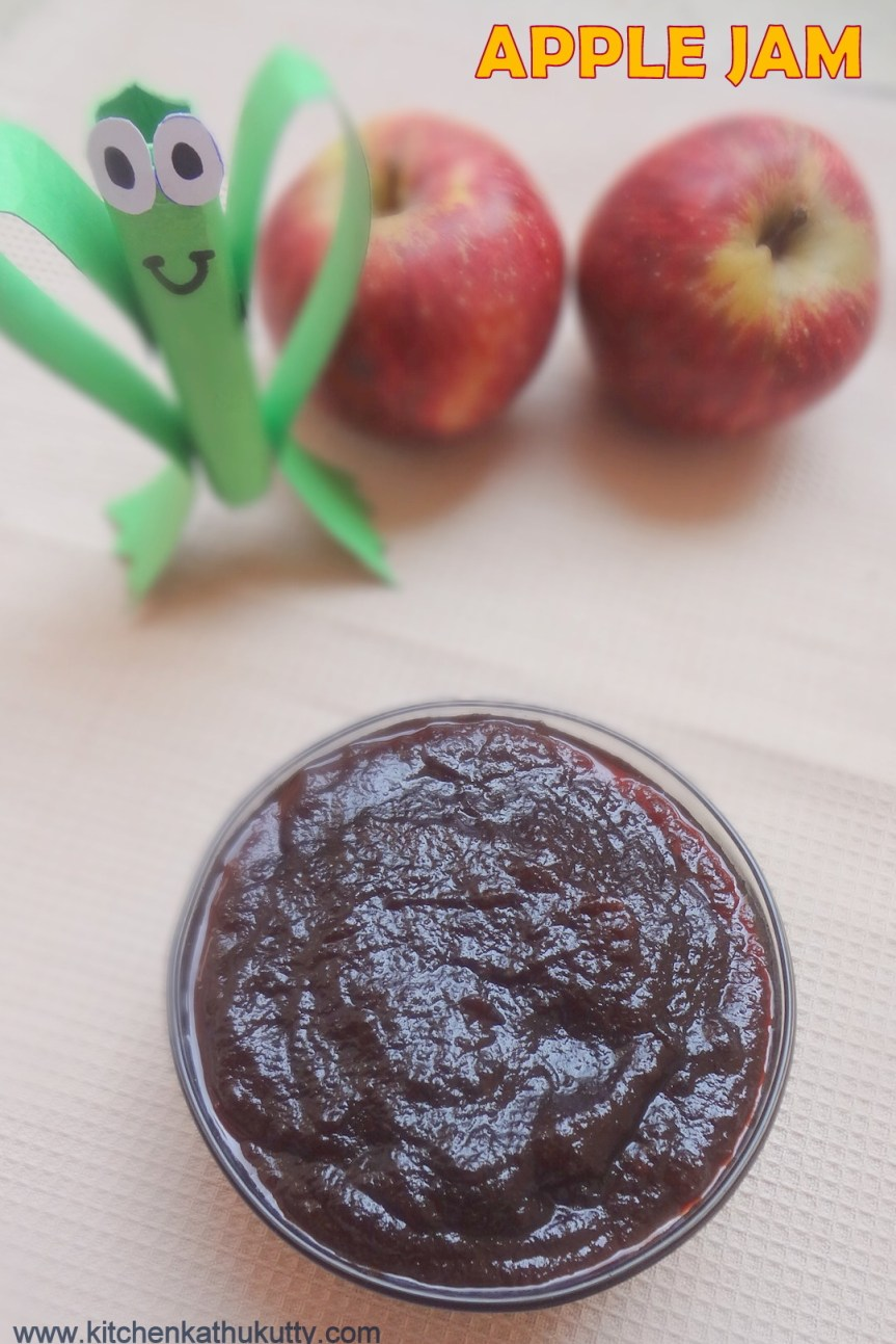 home made apple jam