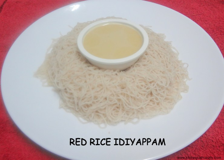 red rice idiyappam