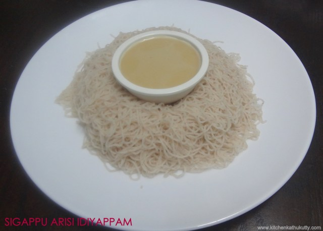 red rice idiyappam