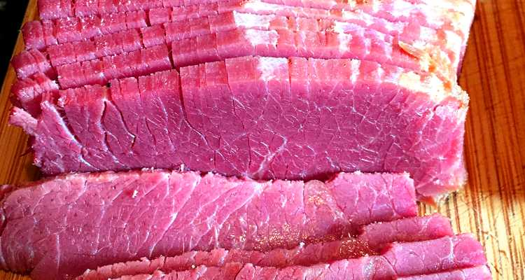 Hand Sliced Corned Beef