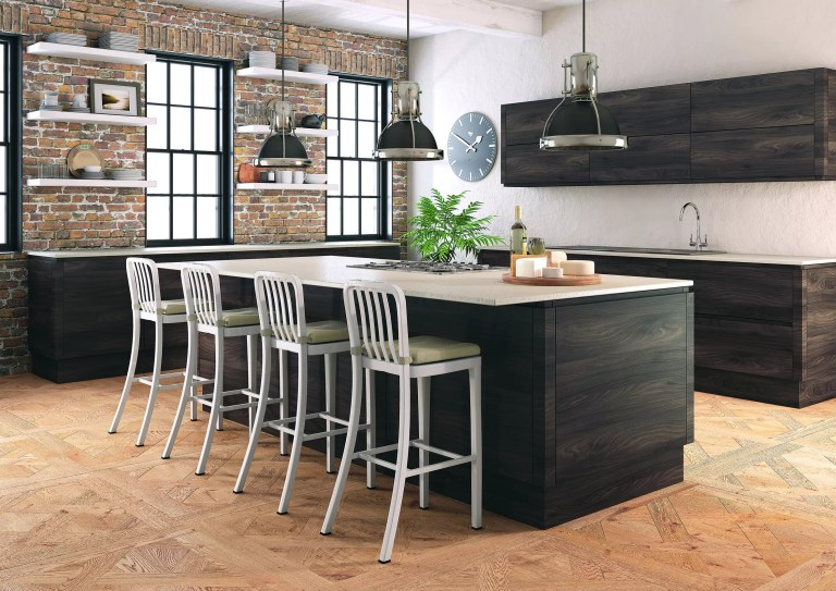 Malton Lava Elm Kitchen