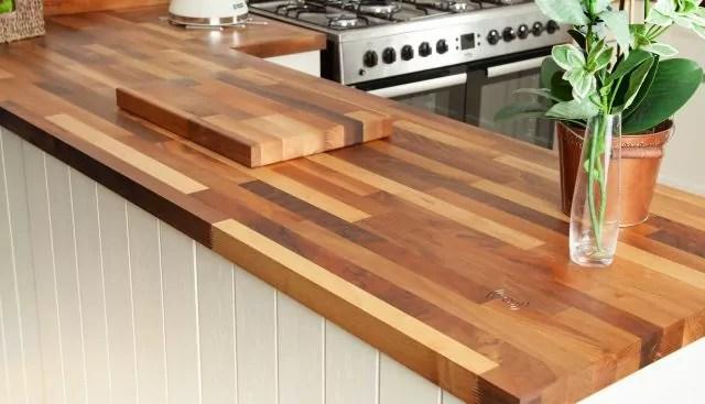 solid wood worktop