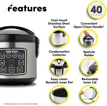 Oatmeal Cooker Features