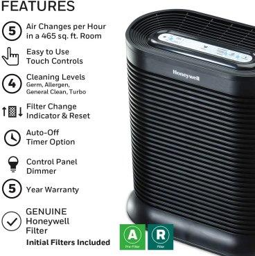 Honeywell Air Purifier Features