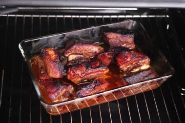 Pork chops in oven
