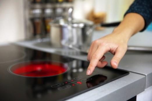 Hot plate burner safety