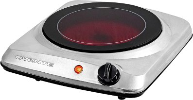Ovente 1000W Hot Plate Electric Countertop Infrared Stove