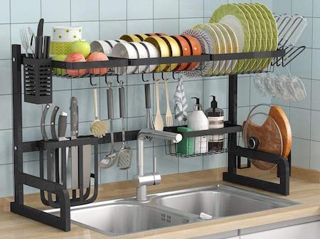 10 best over the sink dish drying rack