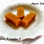 Mysore Pak | Mysore Pak recipe step by step