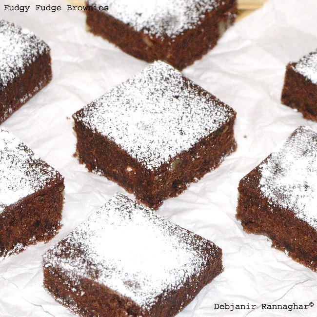 Fudgy Fudge Brownies