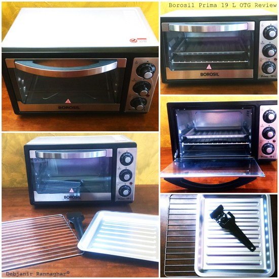 My Review of Borosil Prima 19 L Oven Toaster Griller (OTG)