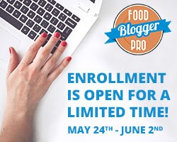 Start a food blog with proper learning! Food Blogger Pro is open for Enrollment!