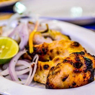 %Chicken Malai Kebab