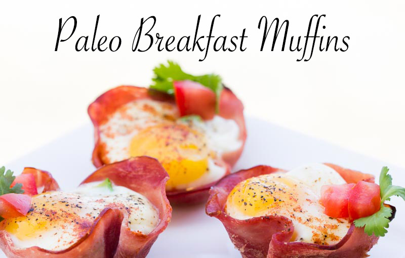 Paleo Breakfast Muffins; clean eating