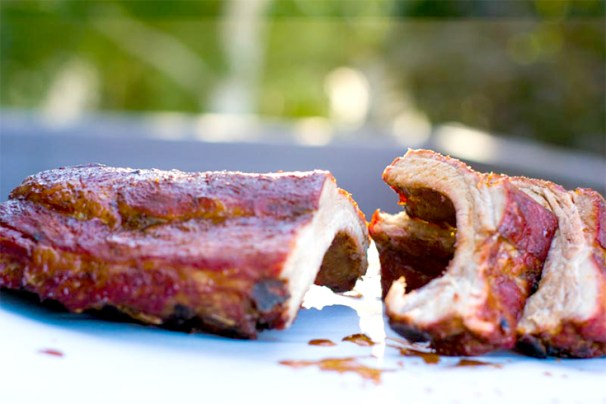 Smoked Baby Back Ribs Recipe: Melt in your mouth and fall off the bone smoked ribs made with a homemade clean BBQ Sauce