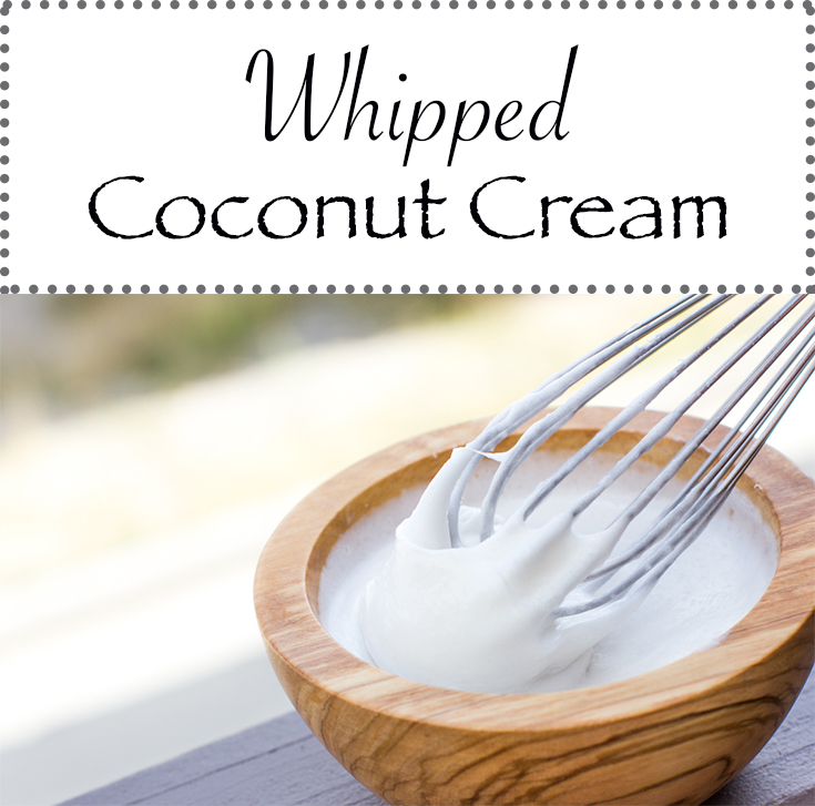 Perfect dairy-free and vegan whipped cream recipe for topping favorite treats, desserts, and fruits.
