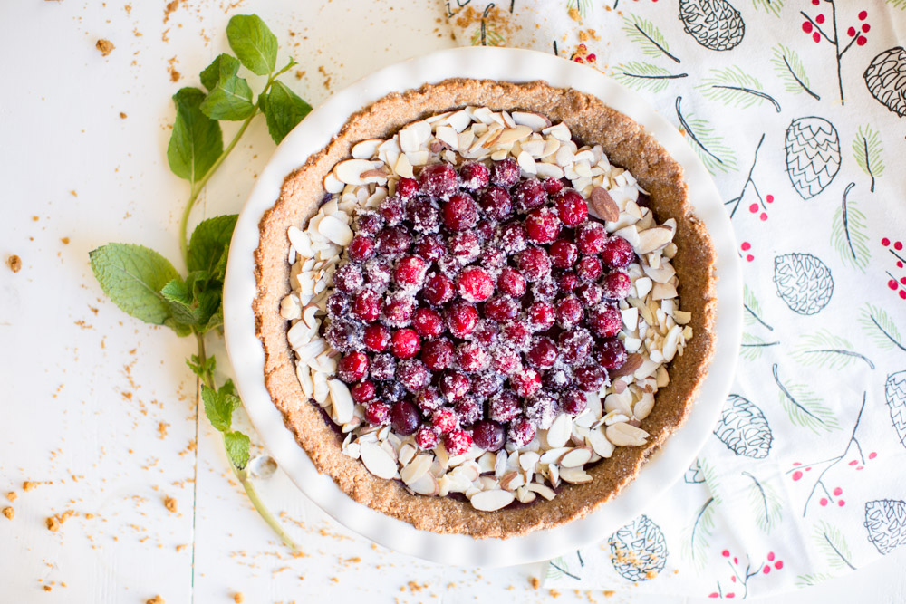 clean cranberry pie recipe