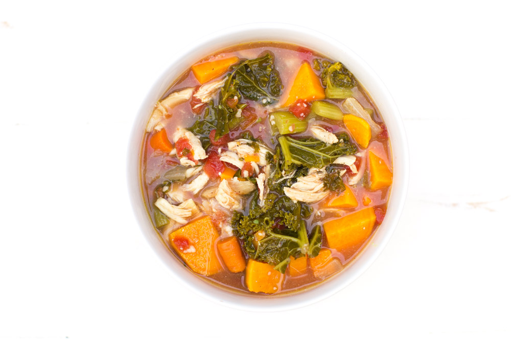 chicken bone broth soup recipe