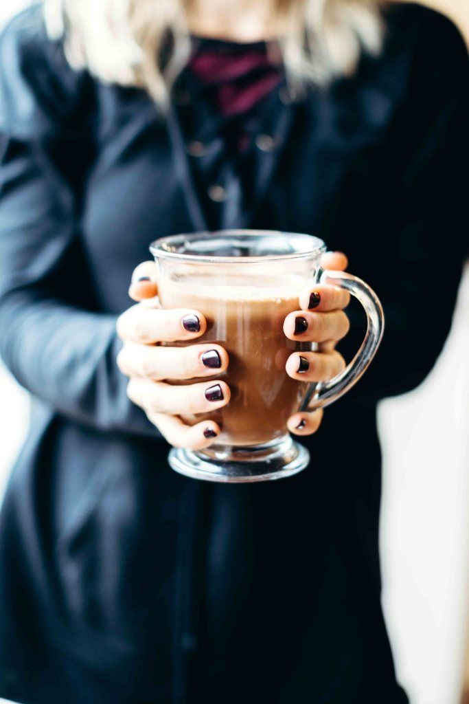 Bulletproof Hot Chocolate: Sub milk for grass-fed butter & MCT (or coconut) oil for a frothy, creamy & life changing delicious hot chocolate recipe