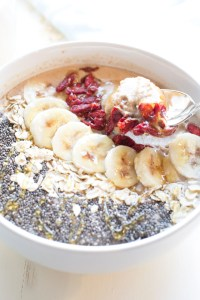 """Protein packed frozen oatmeal """"froatmeal"""". A macronutrient balanced breakfast that is delicious, healthy and guaranteed to satisfy!"""