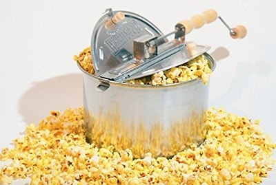 Wabash Valley Farms 25008 Whirley Pop Stovetop Popcorn Popper