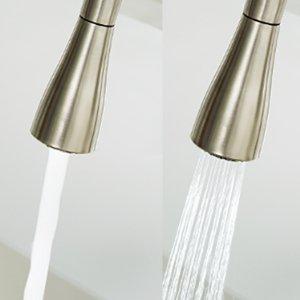 Water flow pattern