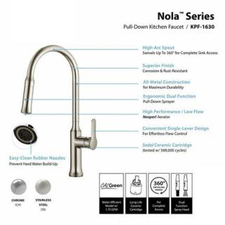 kraus nola commercial faucet