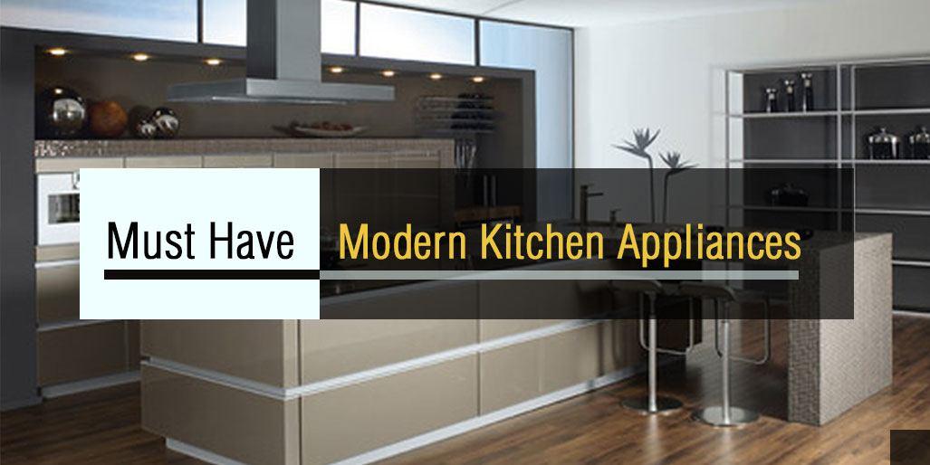 Modern Kitchen Must Haves
