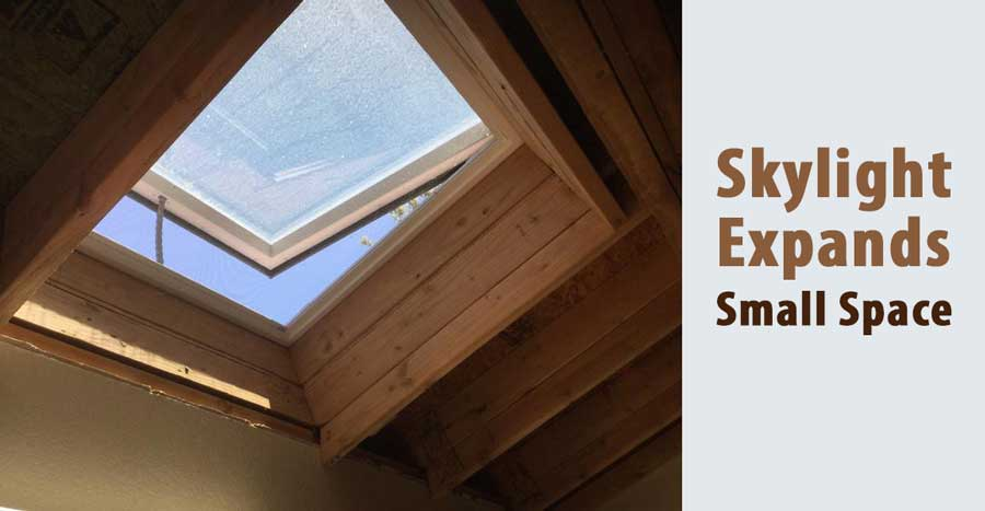 Using Skylight Expands for the Small Kitchens