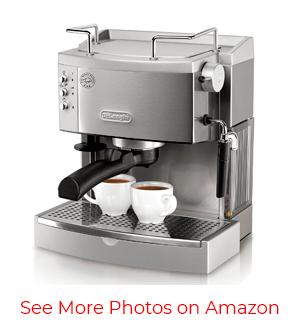 DeLonghi EC702 15-Bar-Pump Espresso Maker – Fastest Coffee Brewer