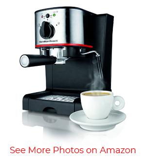 Hamilton Beach 40792 Espresso and Cappuccino Maker – Best for beginners