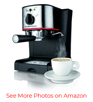 Hamilton Beach 40792 Espresso and Cappuccino Maker – Best for beginners