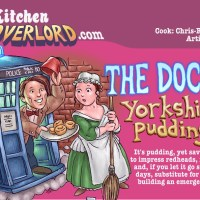 Edible Art: The Doctor's Yorkshire Pudding