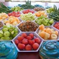Settlers of the Noms: Cold Salad Picnic Board