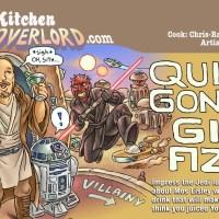 Edible Art: Qui Gon's Gin Fizz