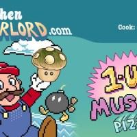 Edible Art: 1-Up Mushroom Pizza Rolls