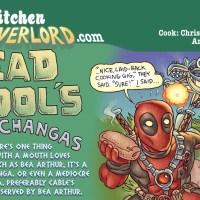 Edible Art: Deadpool's Chimichangas