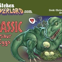 Edible Art: Jurassic Dinosaur Eggs