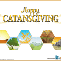 Free Catansgiving Printables