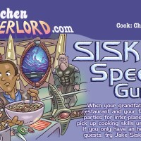 Edible Art: Sisko's Speedy Gumbo