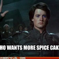 Minion Monday: We Kick off Dune Week with Recipes for Tabara Cake and Spice Tea