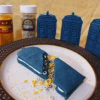Cookie Week: Blow Up Your Tastebuds With These Exploding TARDIS Cookies