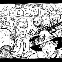 12 Free Walking Dead Coloring Pages + 12 Colorable Character Chibis