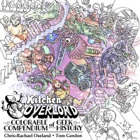 Colorable Compendium of Geek History now for sale!