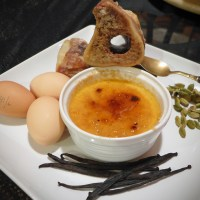 Bone Marrow Creme Brulee
